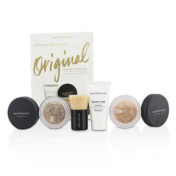 Bare Escentuals Get Started Mineral Foundation Kit - # 18 Medium Tan