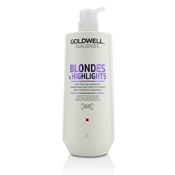 Goldwell Dual Senses Blondes & Highlights Anti-Yellow Shampoo (Luminosity For Blonde Hair)