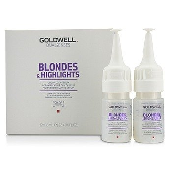 Goldwell Dual Senses Blondes & Highlights Color Lock Serum (Luminosity For Blonde Hair)