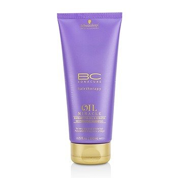 BC Oil Miracle Barbary Fig Oil & Keratin Restorative Shampoo (For Very Dry and Brittle Hair)