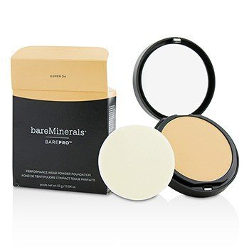 BarePro Performance Wear Powder Foundation - # 04 Aspen (Box Slightly Damaged)