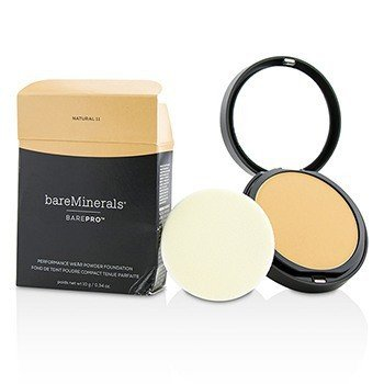 BarePro Performance Wear Powder Foundation - # 11 Natural (Box Slightly Damaged)