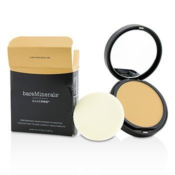BarePro Performance Wear Powder Foundation - # 09 Light Natural (Box Slightly Damaged)