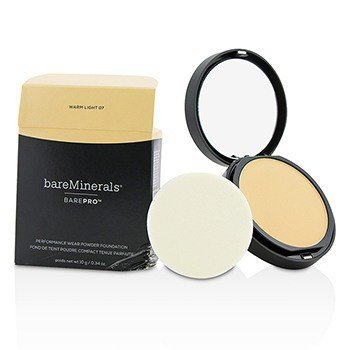 BarePro Performance Wear Powder Foundation - # 07 Warm Light (Box Slightly Damaged)