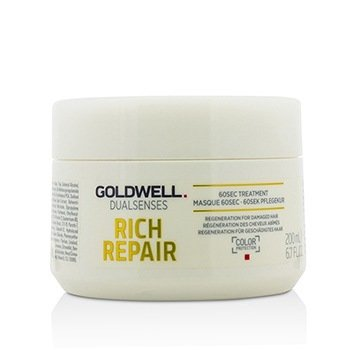 Goldwell Dual Senses Rich Repair 60Sec Treatment (Regeneration For Damaged Hair)