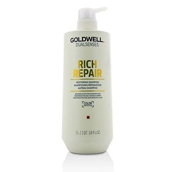 Goldwell Dual Senses Rich Repair Restoring Shampoo (Regeneration For Damaged Hair)