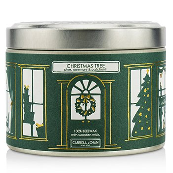 The Candle Company Tin Can Candle - Beeswax, Christmas Tree