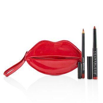 Youngblood CaliLipLove Kit - Rodeo Red & Truly Red