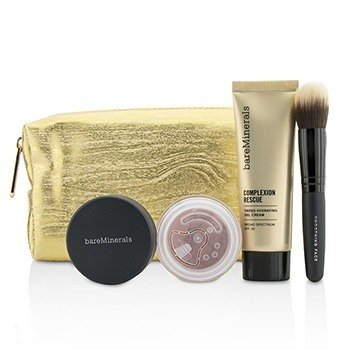 Bare Escentuals Take Me With You Complexion Rescue Try Me Set - # 03 Buttercream