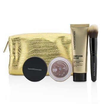 Bare Escentuals Take Me With You Complexion Rescue Try Me Set - # 09 Chestnut