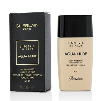 Guerlain Lingerie De Peau Aqua Nude Foundation SPF 20 - # 01N Very Light