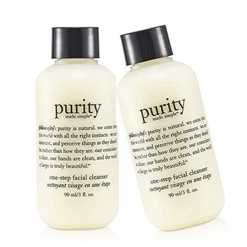 Philosophy Purity Made Simple - One Step Facial Cleanser Duo Pack
