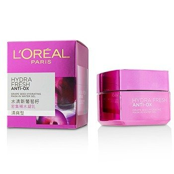 LOreal Hydrafresh Anti-Ox Grape Seed Hydrating Mask-In Water Gel