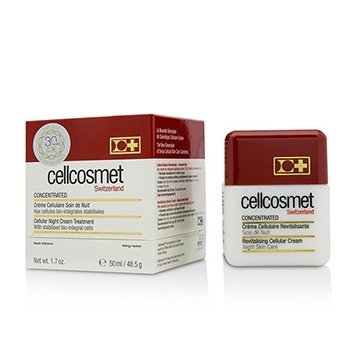 Cellcosmet and Cellmen Cellcosmet Concentrated Cellular Night Cream Treatment