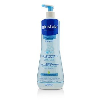 Mustela No Rinse Cleansing Water (Face & Diaper Area) - For Normal Skin