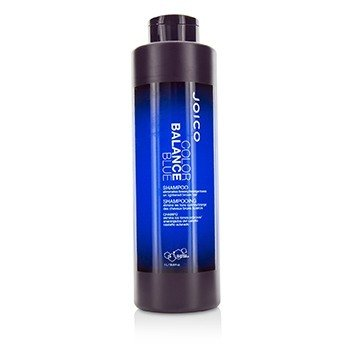 Joico Color Balance Blue Shampoo (Eliminates Brassy/Orange Tones on Lightened Brown Hair)