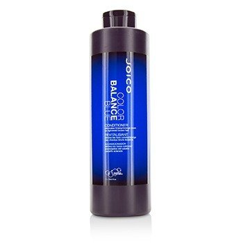 Joico Color Balance Blue Conditioner (Eliminates Brassy/Orange Tones on Lightened Brown Hair)