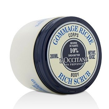 LOccitane Shea Butter Rich Body Scrub