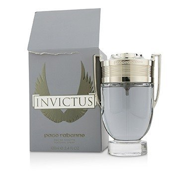 Paco Rabanne Invictus Eau De Toilette Spray (Box Slightly Damaged)