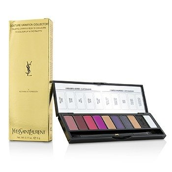 Yves Saint Laurent Couture Variation Collector 10 Colour Lip & Eye Palette - # 5 Nothing Is Forbidden