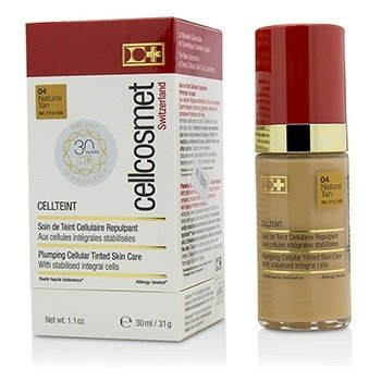 Cellcosmet CellTeint Plumping Cellular Tinted Skincare - #04 Natural Tan