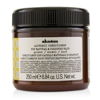 Davines Alchemic Conditioner - # Golden (For Natural & Coloured Hair)