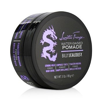 Billy Jealousy Lunatic Fringe Water-Based Pomade (Strong Hold - High Shine)
