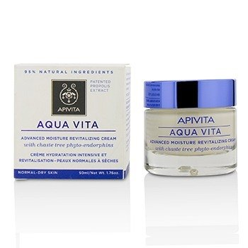 Apivita Aqua Vita Advanced Moisture Revitalizing Cream - For Normal to Dry Skin