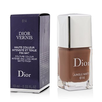 Christian Dior Dior Vernis Couture Colour Intense And Long Wear Matte Finish Nail Lacquer - # 614 Jungle Matte