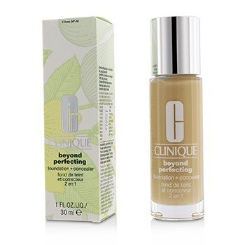 Clinique Beyond Perfecting Foundation & Concealer - # 01 Linen (VF-N)