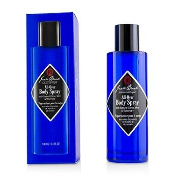 Jack Black All-Over Body Spray with Natural Citrus, Mint & Rosemary