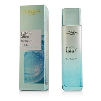 LOreal Hydrafresh Genius Multi-Active 3-In-1 Genius Water