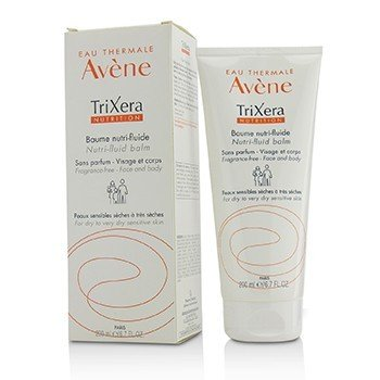 Avene TriXera Nutrition Nutri-Fluid Face & Body Balm - For Dry to Very Dry Sensitive Skin