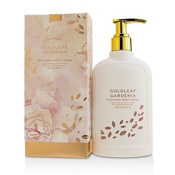 Thymes Goldleaf Gardenia Perfumed Body Cream