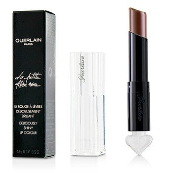 Guerlain La Petite Robe Noire Deliciously Shiny Lip Colour - #017 Leather Coffee
