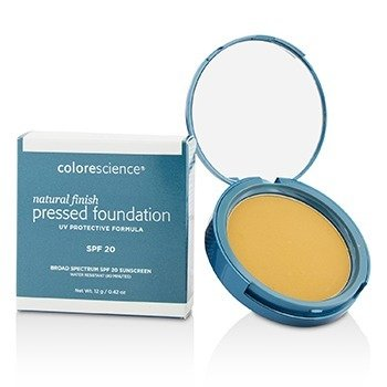 Natural Finish Pressed Foundation Broad Spectrum SPF 20 - # Medium Sand (Exp. Date 07/2018)