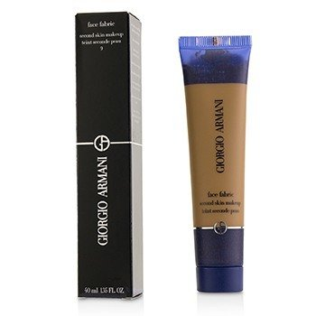 Giorgio Armani Face Fabric Second Skin Lightweight Foundation - # 9