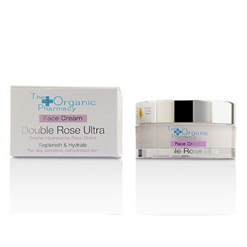 The Organic Pharmacy Double Rose Ultra Face Cream - For Dry, Sensitive & Dehydrated Skin