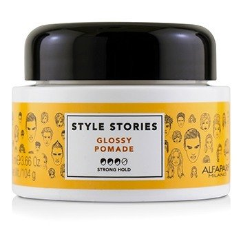 AlfaParf Style Stories Glossy Pomade (Strong Hold)