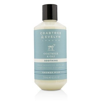 Crabtree & Evelyn Goatmilk & Oat Soothing Shower Milk