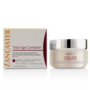 Lancaster Total Age Correction Complete Anti-Aging Light Cream SPF 15 - Normal / Conbination Skin