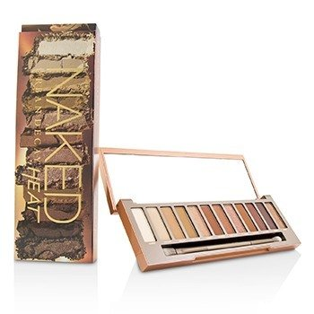 Naked Heat Palette: 12x Eyeshadow, 1x Doubled Ended Blending / Detailed Crease Brush