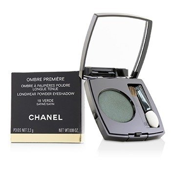 Chanel Ombre Premiere Longwear Powder Eyeshadow - # 18 Verde (Satin)