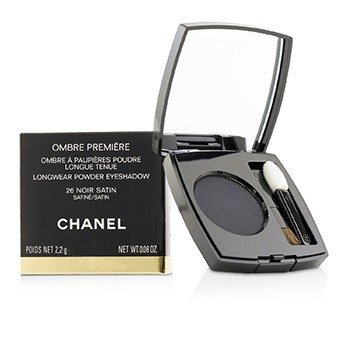 Chanel Ombre Premiere Longwear Powder Eyeshadow - # 26 Noir Satin (Satin)