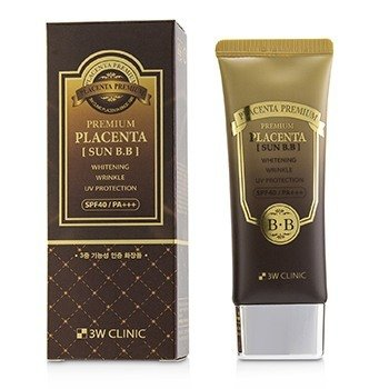 3W Clinic Premium Placenta Sun BB Cream SPF 40/ PA+++