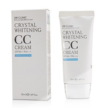 Crystal Whitening CC Cream SPF 50+/PA+++ - #02 Natural Beige