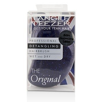 Tangle Teezer The Original Detangling Hair Brush - # Purple Glitter (For Wet & Dry Hair)