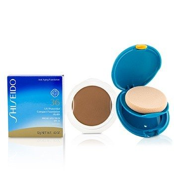 Shiseido UV Protective Compact Foundation SPF 36 (Case + Refill) - # SP70 Dark Ivory