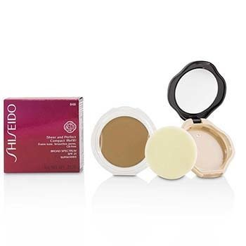 Sheer & Perfect Compact Foundation SPF 21 (Case + Refill) - # B60 Natural Deep Beige
