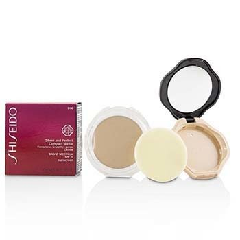Shiseido Sheer & Perfect Compact Foundation SPF 21 (Case + Refill) - # B00 Very Light Beige
